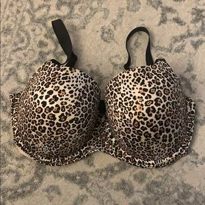 NWOT Fabulous by Victoria's Secret Lined Demi Bra